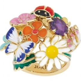 Christian Dior - diorette ring
