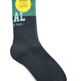MY LOADS ARE LIGHT - MLAL BI COLOR Sox (broccol/dark charcoal)