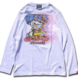 HEADGOONIE - HOWELL KNIFE BOY LONGSLEEVE T-shirts (kaleidoscope)