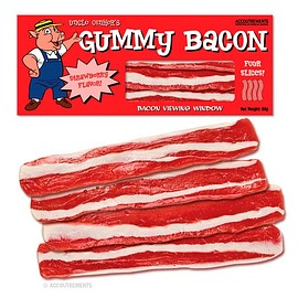 Accoutrements - Gummy Bacon