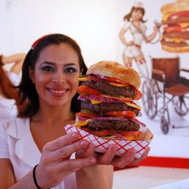Heart Attack Grill - Triple Bypass Burger