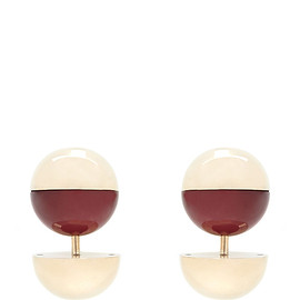 MARNI - FW2015 Red And Gold Globe Cufflinks