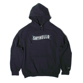"SAYHELLO - Pullover Hoodie""Basic Logo"""