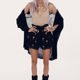 WILDFOX - ROMEO AND JULIET - RODEO SHORTS