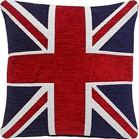 THICK HEAVYWEIGHT UNION JACK CUSHION COVER