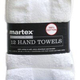 MARTEX - 12 HAND TOWELS