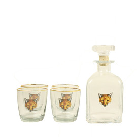 FURBISH - FOX DECANTER SET