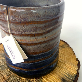 HoneyfurCeramics - Wheel Thrown Ceramic Tea Cup