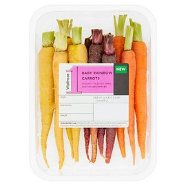 Waitrose - No.1 Baby Rainbow Carrots