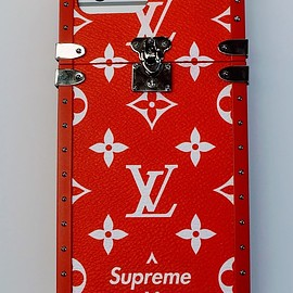 LOUIS VUITTON, Supreme - Louis Vuitton x Supreme iPhone case(FW2017)