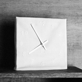 Maison Martin Margiela 13 - White Embroidered clock