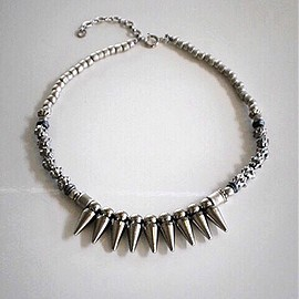 mame - silver necklace