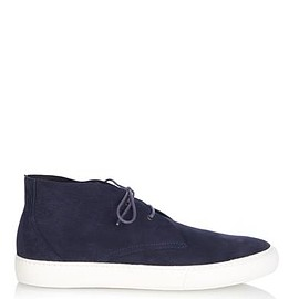 PIERRE HARDY - Unlined suede high-top trainers