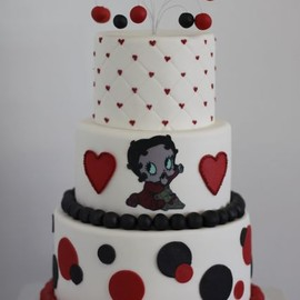 Sweet & Saucy - 1st Bday cake (Betty Boop)