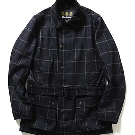 """Barbour - 【Barbour×BEAMS F / 40th別注 """"BEAUCHAMP""""ウィンドーペーン】"""