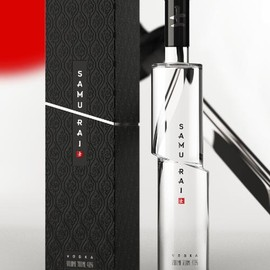 Samurai Vodka - Samurai Vodka Bottle