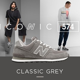 New Balance - ICONIC 574 LEGACY OF GREY