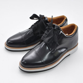 GANRYU - ENAMEL LEATHER SHOES