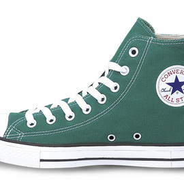 CONVERSE - CANVAS ALL STAR® COLORS EVO HI  GREEN