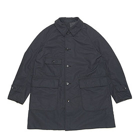 ENGINEERED GARMENTS - Reversible Coat-Nyco Ripstop-Black