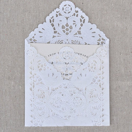 BashoreDesigns - Lace Envelope