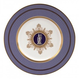 WEDGWOOD - Anthemion Blue Accent Salad Plate