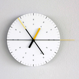 Hundreds Tens Units - Wall Clock