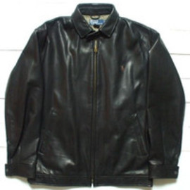 RALPH LAUREN - Ram Leather Jacket