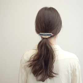 STRIPES - UFO barrette