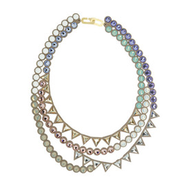 talkative by igo - Banquet bijou necklace | trilliant mix , Purple