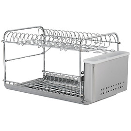 John Lewis - Tier Dish and Cutlery Drainer