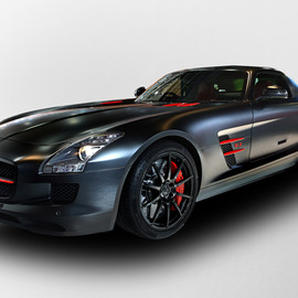Mercedes Benz - SLS AMG Matt Black Edition