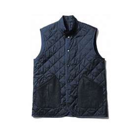 uniform experiment - MELTON POCKET QUILTING VEST