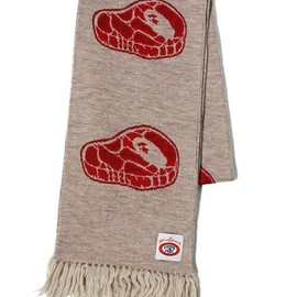 A BATHING APE - STEAK SCARF
