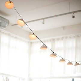 PigeonToe - Pleated String Lights MADE TO ORDER