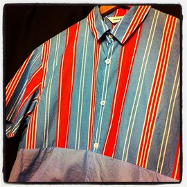 digawel - stripe shirt