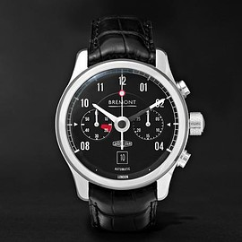 Bremont - MKII Jaguar Stainless Steel and Alligator Watch