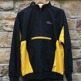 adidas - Torsion Windbreaker Jacket - Black/Yellow