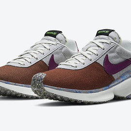 NIKE - D/MS/X Waffle - Sci-Fi Purple/Photon Grey/Team Orange/White