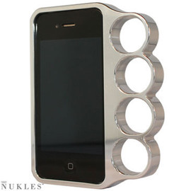 NUKLES - Aluminum iPhone Case - Chrome