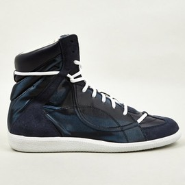 Maison Martin Margiela - 22 Men's Hidden Lace Mid-Top Sneakers