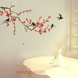 Cherry Blossom Wall Decal wall Sticker baby decal nursery decal nature room decor kids wall decal