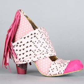 IRREGULAR CHOICE - Milkshake Mush pumps pink
