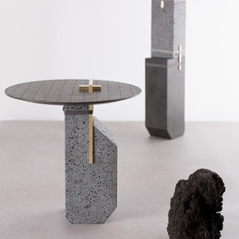 formafantasma - formafantasma transforms mount etna lava into experimental furniture