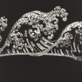 BOUCHERON - Wave Tiara 1910