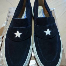 CONVERSE made in usa - one star slip on