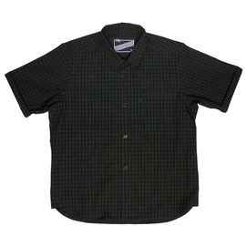 "THE UNION - THE UNION/THE FABRIC ""ROLL CHOP SHIRTS -S.BLACK WATCH-"""