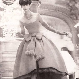 Christian Dior Couture, Spring 1958.