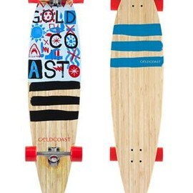 GOLDCOAST - GoldCoast Skateboards The Shaka Tack Longboard Complete  Small