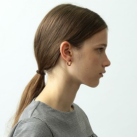 steven alan - <大澤鼈甲>HOOP PIERCE S